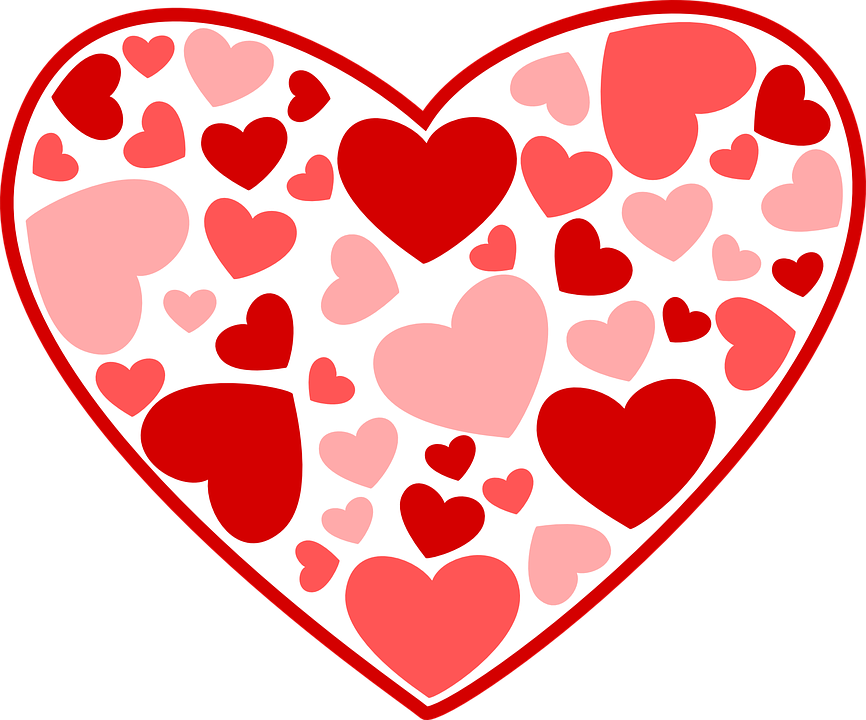 Image result for valentine hearts school